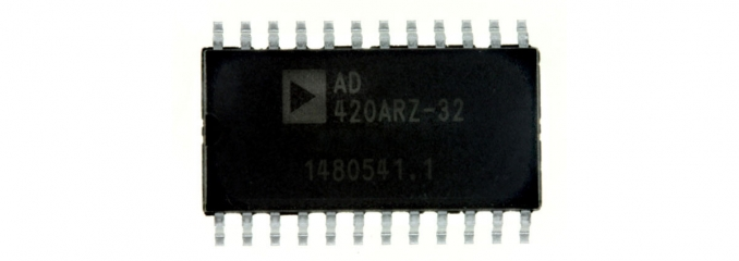 Analog Devices AD420 serial input 16bit DAC