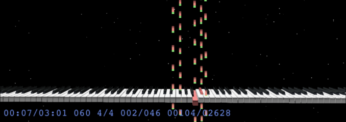 MIDITrail playing Piano Phase