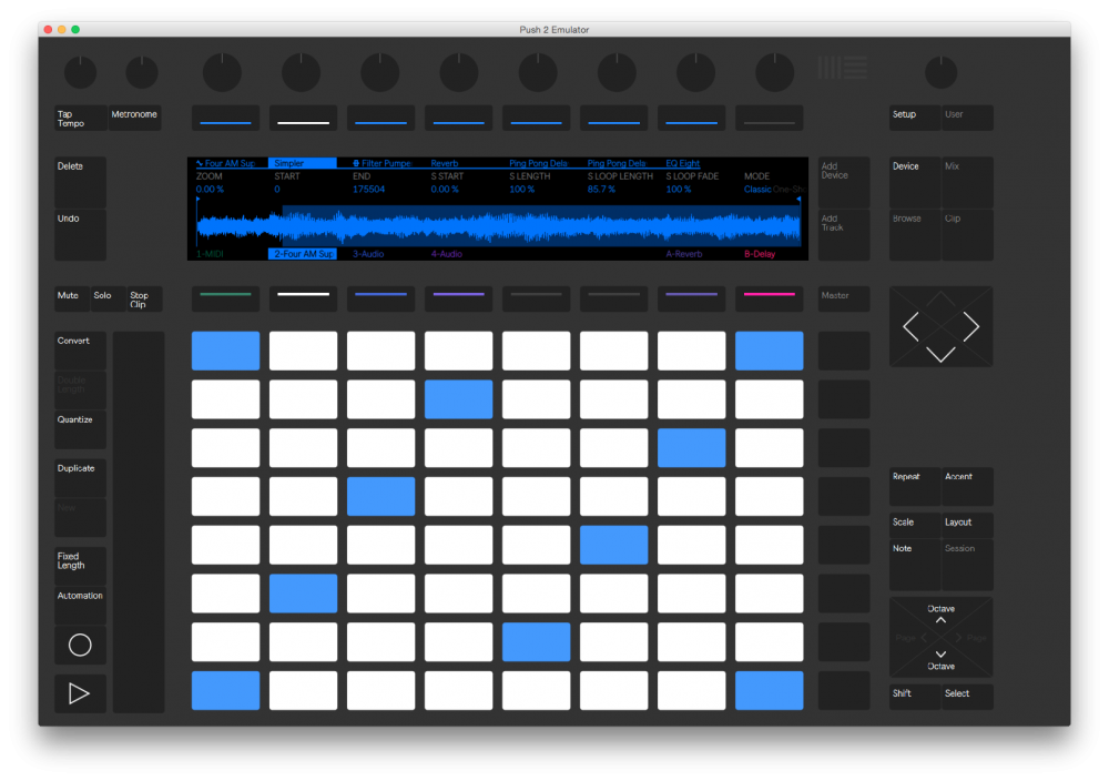 maschine hardware midi template